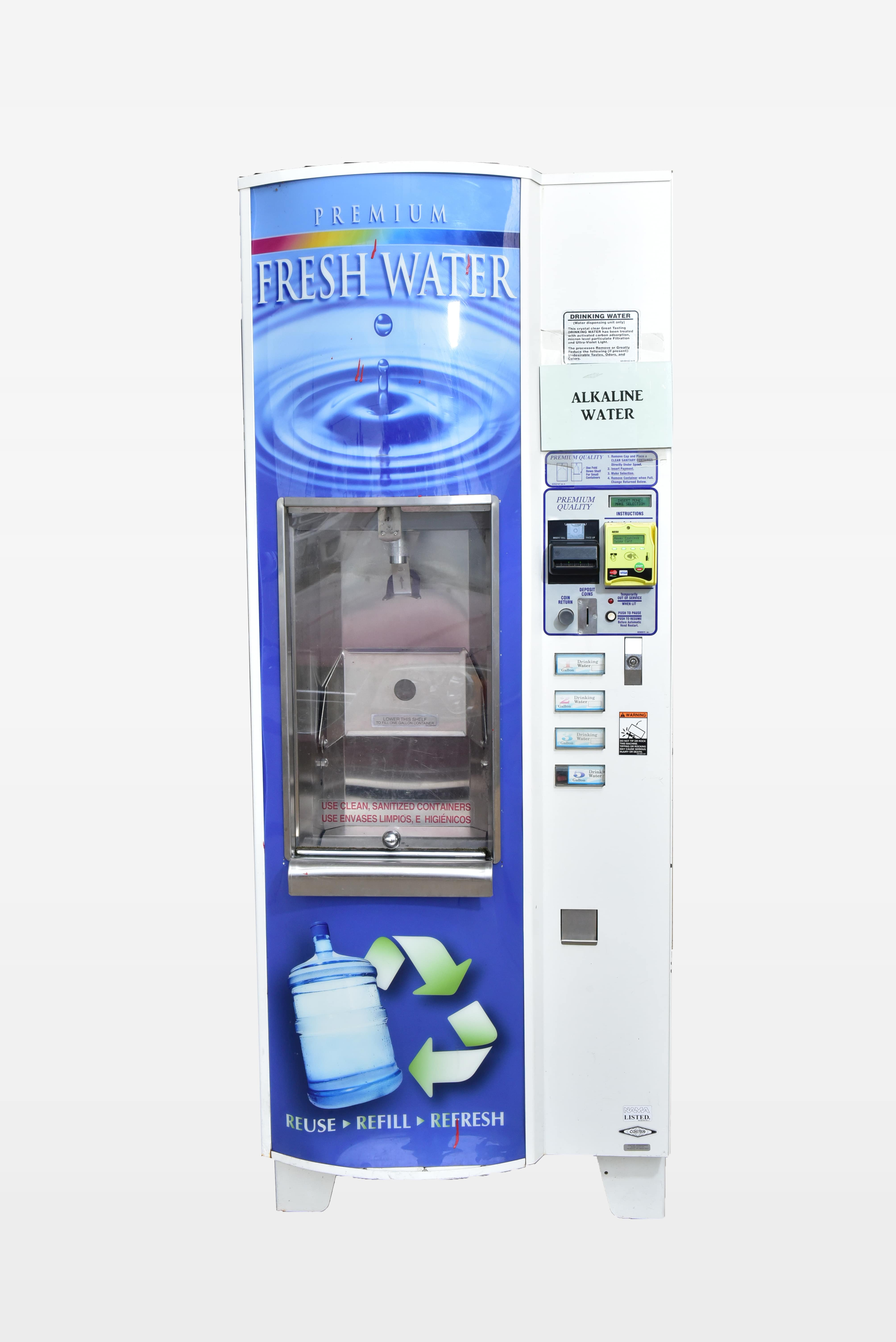 purified filtered water stations